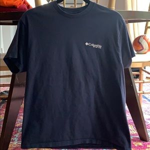 Columbia PFG Large navy T-shirt